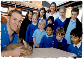 2 PDSA sean rabbit and class
